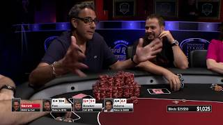 Brad Garrett SWAMPS the table with $5 chips! | S5 E13 Poker Night in America