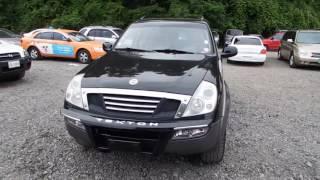 2002 Ssangyong Rexton RX290 4WD M/T