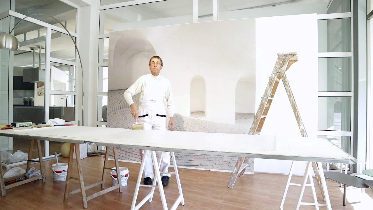 Installazione Carta Da Parati Creativespace Wallpaper Installation Time Laps