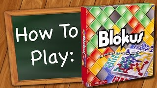 How to play: Blokus