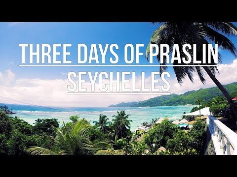 Visiting Praslin Seychelles GoPro Hero5 4K 2017 Part 1