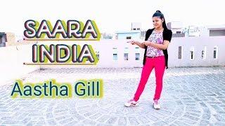 Saara India Song Dance Aastha Gill ft Priyanka Sharma Easy Steps Choreography