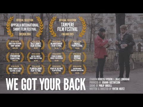 'We Got Your Back' (short film, English subtitles)