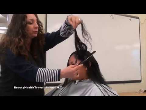 Basic Haircutting Class for Students: Long Layers:  for Beginners