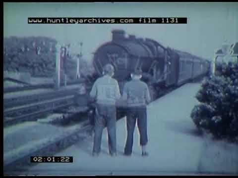 Use Of Slip Coaches On The UK Railways, 1950s - Film 1131