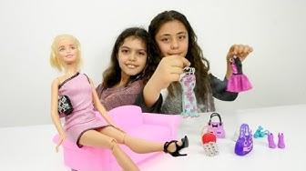 Tuana Barbie Berra'nın dükkanına getiriyor. Barbie oyunları