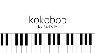 Ko Ko Bop Exo Piano Tutorial