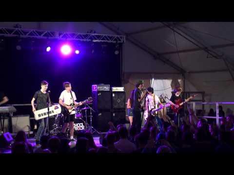 School of Rock Australia perform at the Horny Goat
