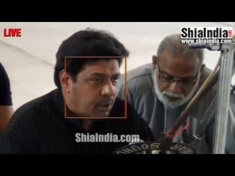 LIVE Majlis Broadcast From Aza Khana-e-Zehra Hyderabad, India