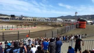 Race Track At Lake Elsinore Motorsport Park