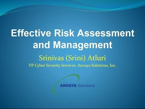 Effective Risk Assessment and Management - Anvaya Solutions, Inc.