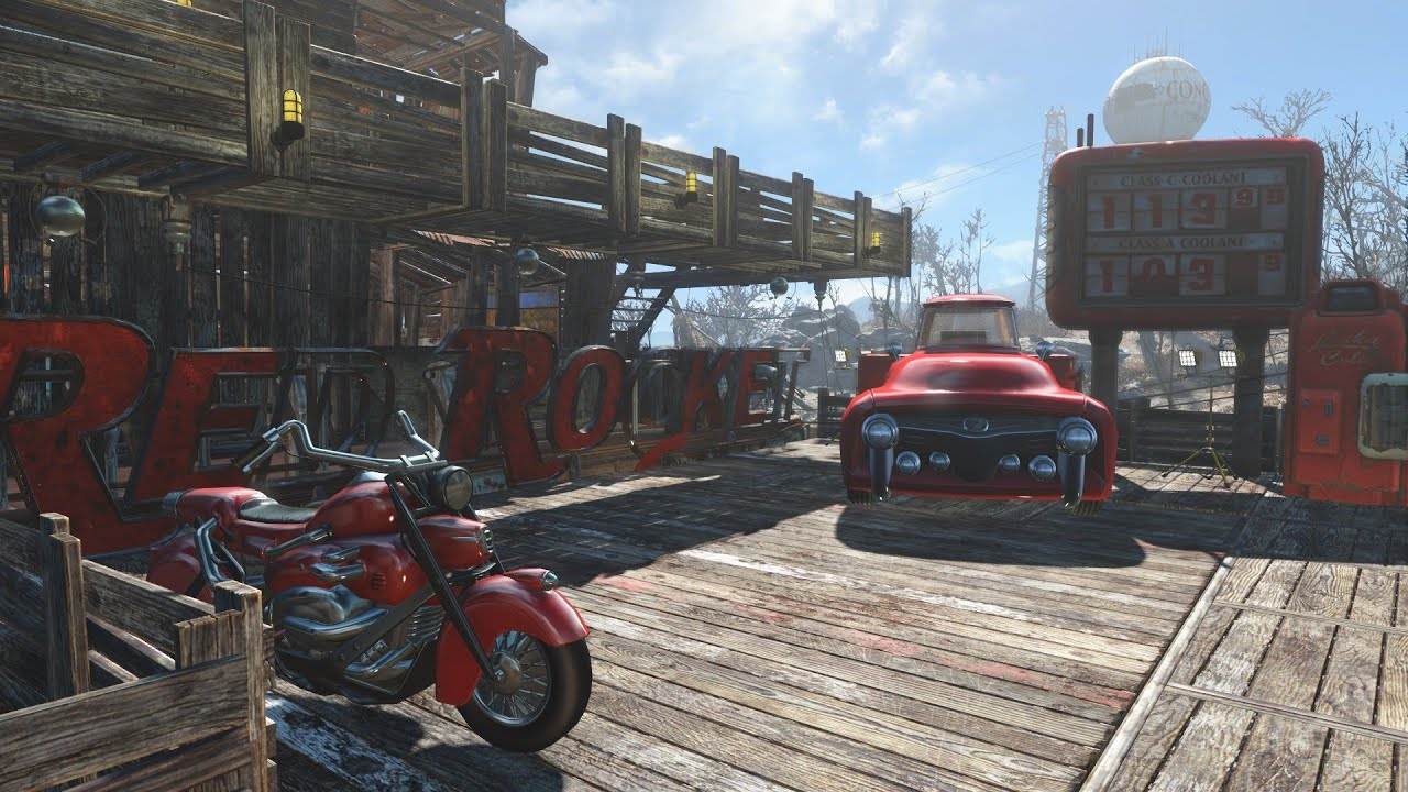Fallout 4 Red Rocket Immersion Base Showcase