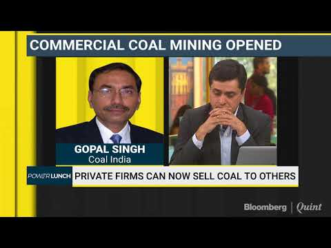 Coal India Chairman: Welcomes Competition In The Sector