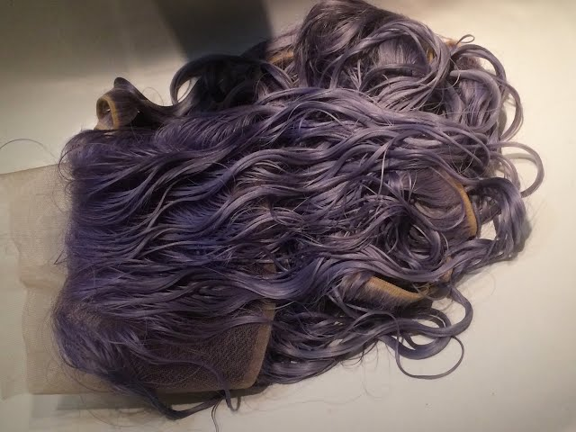 Dip Dye 613 Blonde to Adore Periwinkle