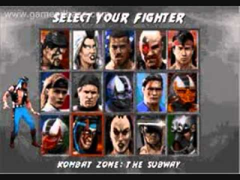Mortal Kombat 3- Character Select Theme (8 bit)