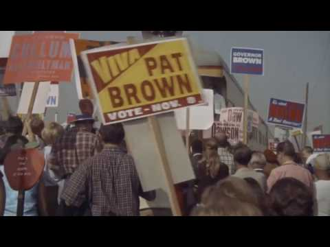 Reagan vs. Brown In 1966 Election - Rusty