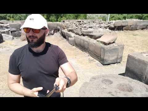 Поездка на велосипеде, история Храма Звартноц и Церкви св. Рипсимэ