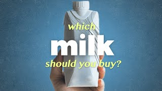 Which milk should you buy? (Almond, Rice or Oat?)