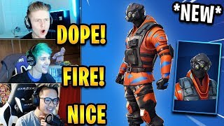 "Streamers React to *NEW* ""Hypernova"" Skin! *RARE* 