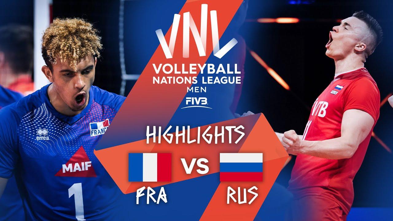 Download FRA vs. RUS - Highlights Week 3 | Men's VNL 2021