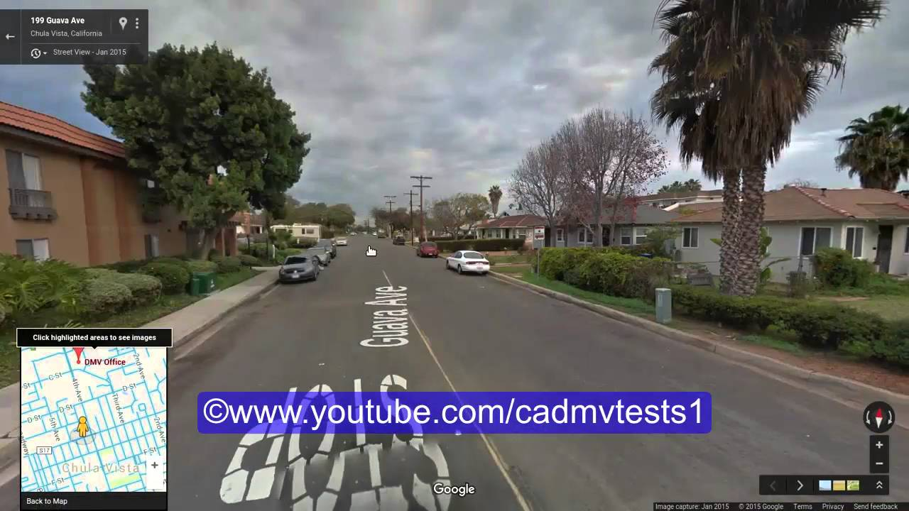 Chula vista california behind the wheel test route 1 youtube sciox Gallery
