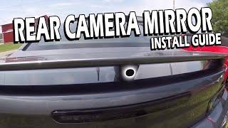 2019 Camaro Rear Camera Mirror Upgrade Kit Install   Gen5 DIY