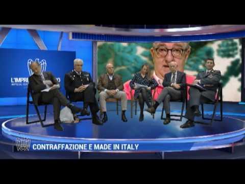 Trasmissione 9 aprile Confindustria   Made in Italy e contraffazione