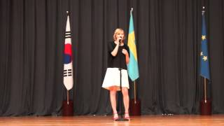 Katie goes to Tokyo - Sweden day in South Korea