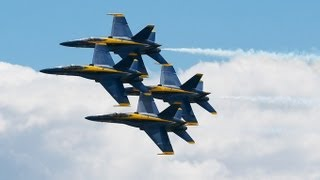 Blue Angels - flight demonstration squadron