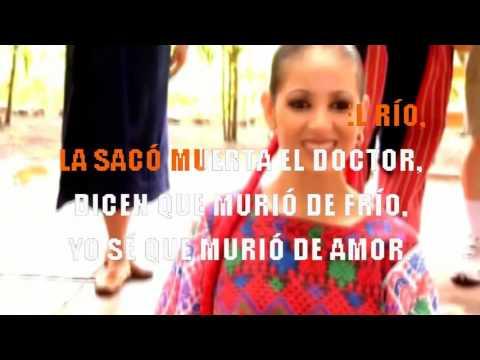 Óscar Chávez - La niña de Guatemala (Karaoke Mi versión)