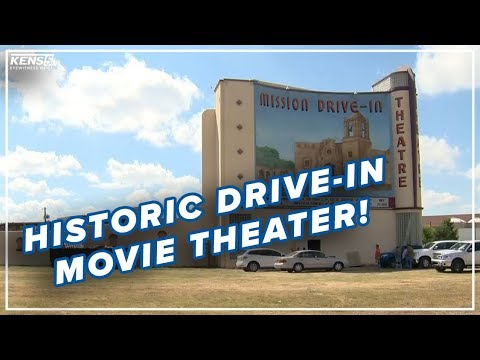 A Historic Outdoor Movie Theater In San Antonio | NEW TO TOWN