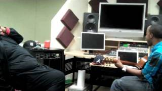 In the Studio w/ Michael Warren & Ruben Studdard