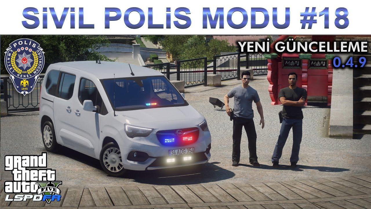 GTA 5 POLİS MODU   RENAULT SYMBOL   LSPDFR