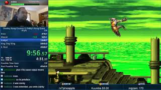 Donkey Kong Country 2 Speedrun in 42:47
