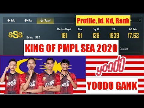 yoodo-gank-|-king-of-pmpl-sea-final-2020-|-jumper,-fredol,-draxx,-manparang-|-id,-kd,-rank,-profile