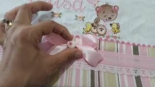 Aprenda a fazer lindos barradinhos para fraldas