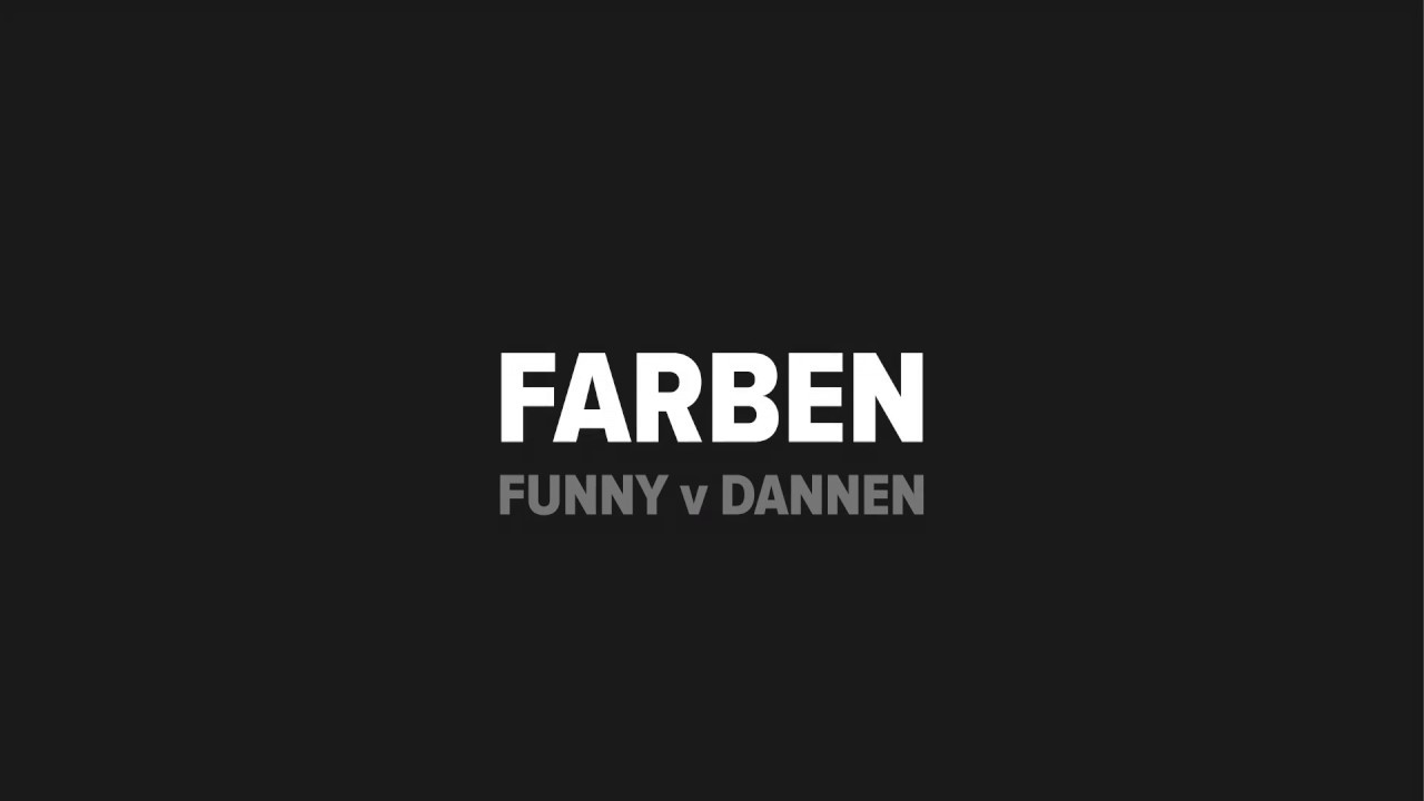 Funny van Dannen - Farben (2018)