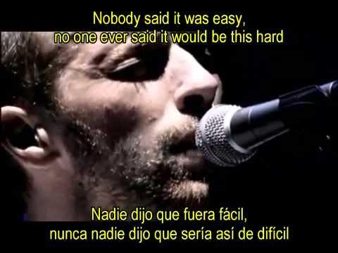 Coldplay The Scientist Subtitulada en Español e Inglés Lyrics :DJ EZEQUIEL