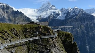 Cliff Walk above Grindelwald in the Swiss Alps