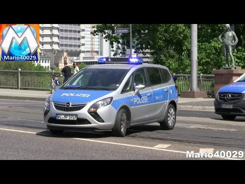 8x Polizei Frankfurt