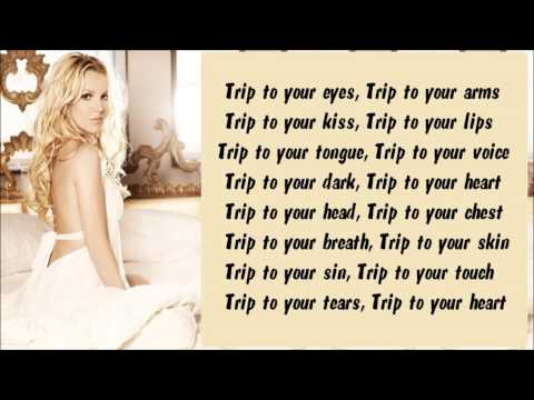 Britney Spears - Trip To Your Heart Karaoke / Instrumental with lyrics on screen
