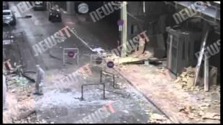 Καταστροφές στην πρεσβεία της Κύπρου
