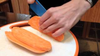 How to Make Baked Carrot and Sweet Potato Fries