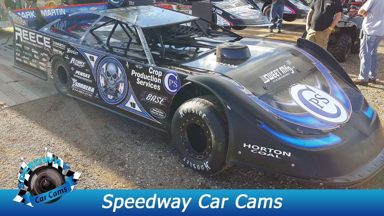#0 Scott Bloomquist - Lucas Oil Late Model Dirt Series - 3-31-17 Boyd's  Speedway - In-Car Camera