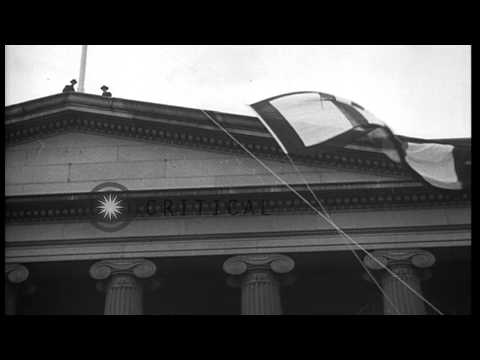 William Gibbs McAdoo opens the fourth Liberty bond drive in Washington D.C., Unit...HD Stock Footage