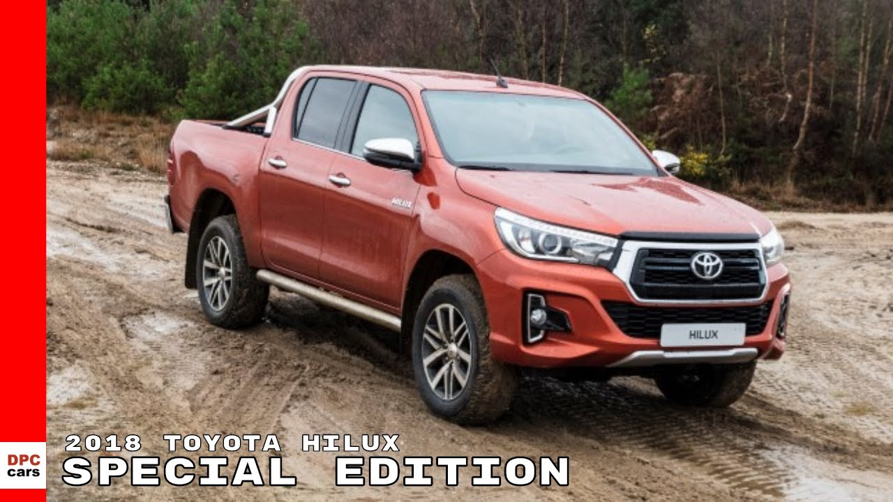 2018 Toyota Hilux Special Edition Youtube
