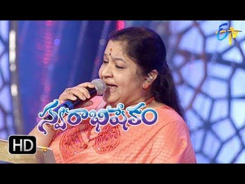 Raanela Vasanthale Song  ChithraPerformance   Swarabhishekam   29th April 2018   ETV Telugu