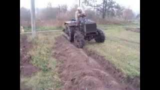 самодельный трактор 4х4