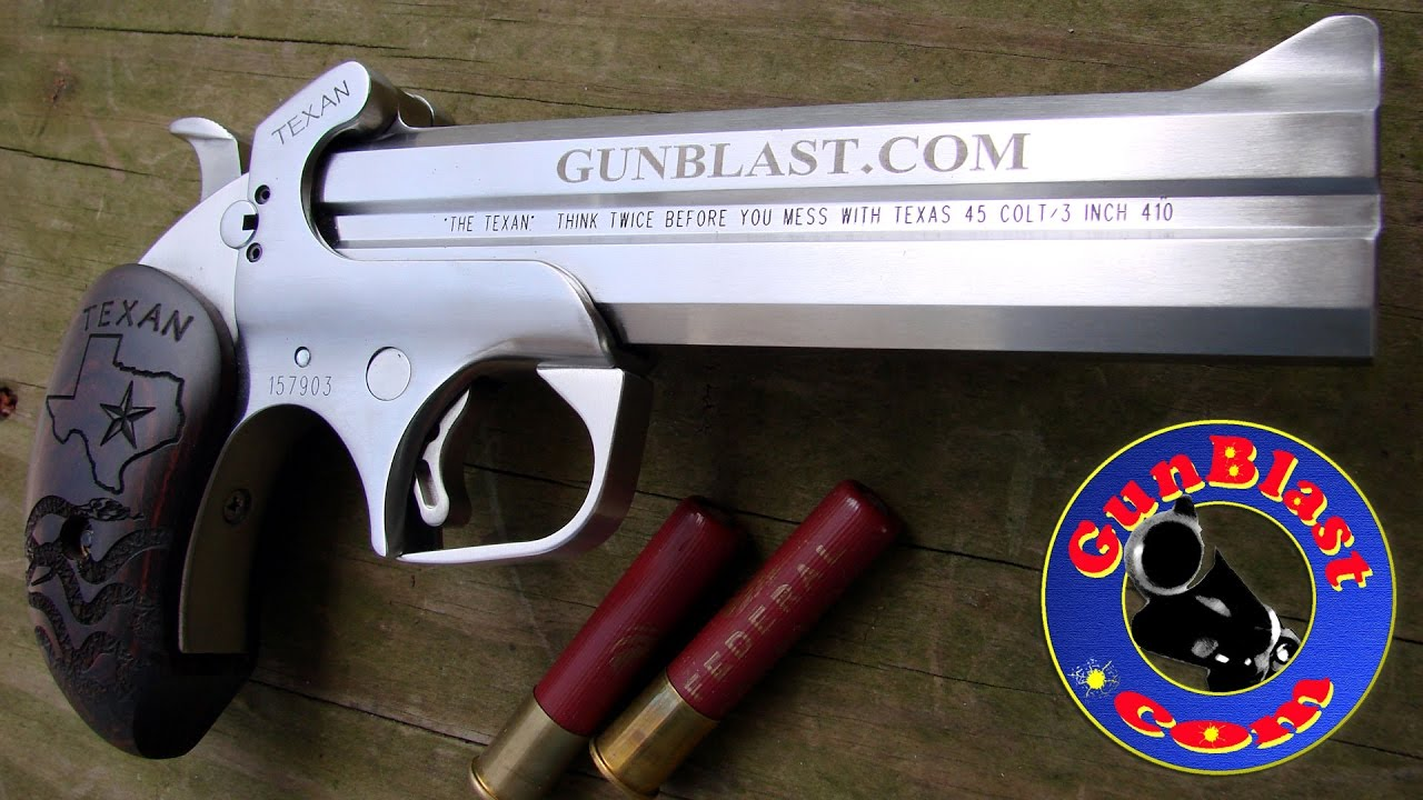 custom bond arms texan 45 colt 410 pistol giveaway gunblast