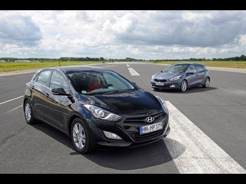 Hyundai i30, Kia cee'd – Koreanisches Bruder-Duell